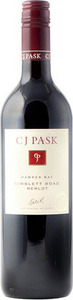 C.J. Pask Gimblett Road Merlot 2013, Gimblett Gravels, Hawkes Bay, North Island Bottle