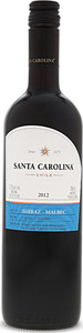 Santa Carolina Shiraz 2015, Central Valley Bottle