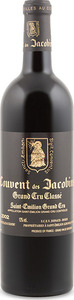 Couvent Des Jacobins 2002, Ac Saint émilion Grand Cru Classé Bottle