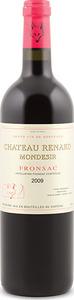 Château Renard Mondesir 2009, Ac Fronsac Bottle