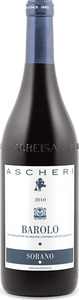 Ascheri Sorana Barolo 2010, Docg Bottle