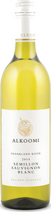 Alkoomi White Label Semillon/Sauvignon Blanc 2014, Frankland River, Western Australia Bottle