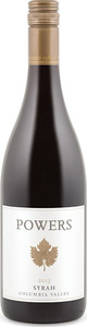 Powers Syrah 2013, Columbia Valley Bottle