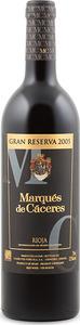 Marqués De Cáceres Gran Reserva 2005, Doca Rioja Bottle