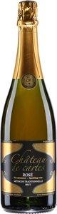 Château De Cartes Vin Mousseux Rosé 2014 Bottle