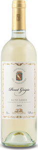 Santa Margherita Impronta Del Fondatore Pinot Grigio 2014 Bottle