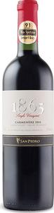San Pedro 1865 Single Vineyard Carmenère 2013, Maule Valley Bottle