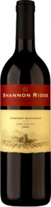 Shannon Ridge Cabernet Sauvignon 2013, Lake County Bottle