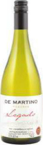 De Martino Legado Reserva Sauvignon Blanc 2014 Bottle