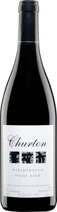 Churton Estate Pinot Noir 2011, Marlborough Bottle