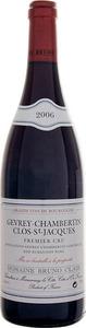Domaine Bruno Clair Gevrey Chambertin Premier Cru Clos Saint Jacques 2010 Bottle