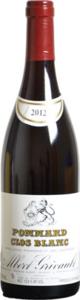 Albert Grivault Premier Cru Clos Blanc 2012, Pommard Bottle