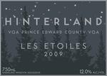Hinterland Les Etoiles 2012, Prince Edward County Bottle