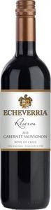 Echeverria Reserva Cabernet Sauvignon 2014, Curico Valley Bottle