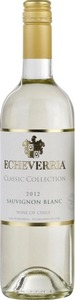 Echeverria Classic Collection Sauvignon Blanc 2014, Curico Valley Bottle