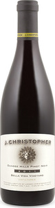 J. Christopher Bella Vida Vineyard Pinot Noir 2011, Dundee Hills, Willamette Valley Bottle