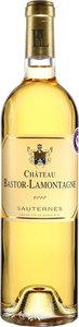 Château Bastor Lamontagne 2010, Sauternes Bottle