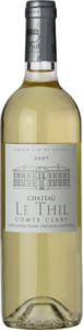 Château Le Thil Comte Clary Blanc 2008, Ac Pessac Léognan Bottle