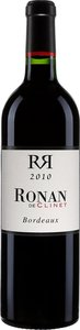 Ronan De Clinet 2010 Bottle