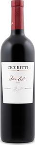 Cicchitti Merlot 2008, Mendoza Bottle