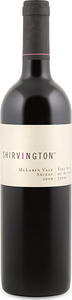 Shirvington Shiraz 2009, Mclaren Vale Bottle