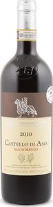 San Lorenzo Castello Di Ama Chianti Classico Gran Selezione 2010 Bottle