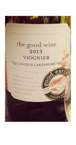The Good Earth Viognier 2013, VQA Lincoln Lakeshore Bottle