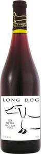 Long Dog Top Dog Pinot Noir 2012, VQA Prince Edward County Bottle