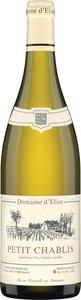 Domaine D'élise Petit Chablis 2014 Bottle
