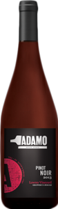 Adamo Pinot Noir Lowrey Vineyard 2013, St. David's Bench Bottle