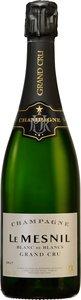 Le Mesnil Grand Cru Blanc De Blancs Vintage Brut Champagne Bottle