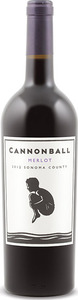 Cannonball Merlot 2013, Sonoma County Bottle