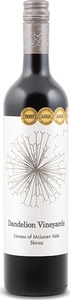 Dandelion Vineyards Lioness Of Mclaren Vale Shiraz 2013, Single Vineyard, Mclaren Vale, South Australia Bottle