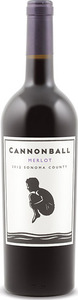Cannonball Merlot 2012, Sonoma County Bottle