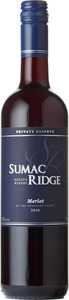 Sumac Ridge Merlot Private Reserve 2013, Okanagan Valley Bottle