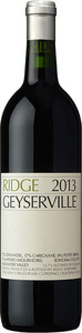 Ridge Geyserville 2013, Alexander Valley, Sonoma County Bottle