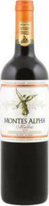 Montes Alpha Malbec 2012, Colchagua Valley Bottle