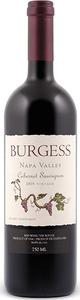 Burgess Cabernet Sauvignon 2010, Estate Vineyards, Napa Valley Bottle