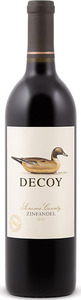 Decoy Zinfandel 2013, Sonoma County Bottle