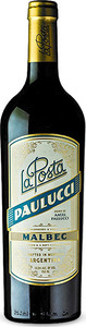 La Posta Angel Paulucci Vineyard Malbec 2014, Ugarteche Bottle