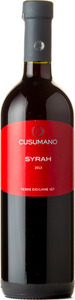 Cusumano Syrah 2014, Igt Sicilia Bottle