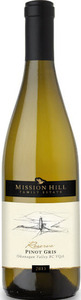 Mission Hill Family Reserve Pinot Gris 2014, BC VQA Okanagan Valley Bottle