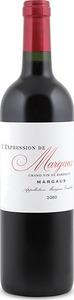 L'expression De Margaux 2010, Ac Margaux Bottle