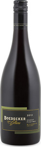 Boedecker Cellars Stewart Pinot Noir 2012, Willamette Valley Bottle