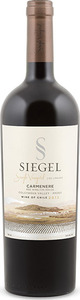 Siegel Single Vineyard Los Lingues Carmenère 2012, Colchagua Valley Bottle