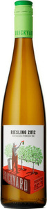 Brickyard Riesling 2013, Niagara Peninsula Bottle