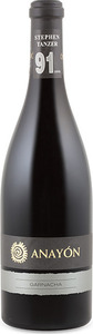 Anayón Garnacha 2013, Do Cariñena Bottle