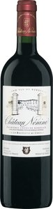 Château Nénine 2010, Premières Côtes De Bordeaux Bottle