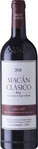 Bodegas Benjamin De Rothschild Vega Sicilia Macan Clasico Rioja 2011 Bottle