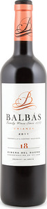 Balbás Crianza 2011, Do Ribera Del Duero Bottle